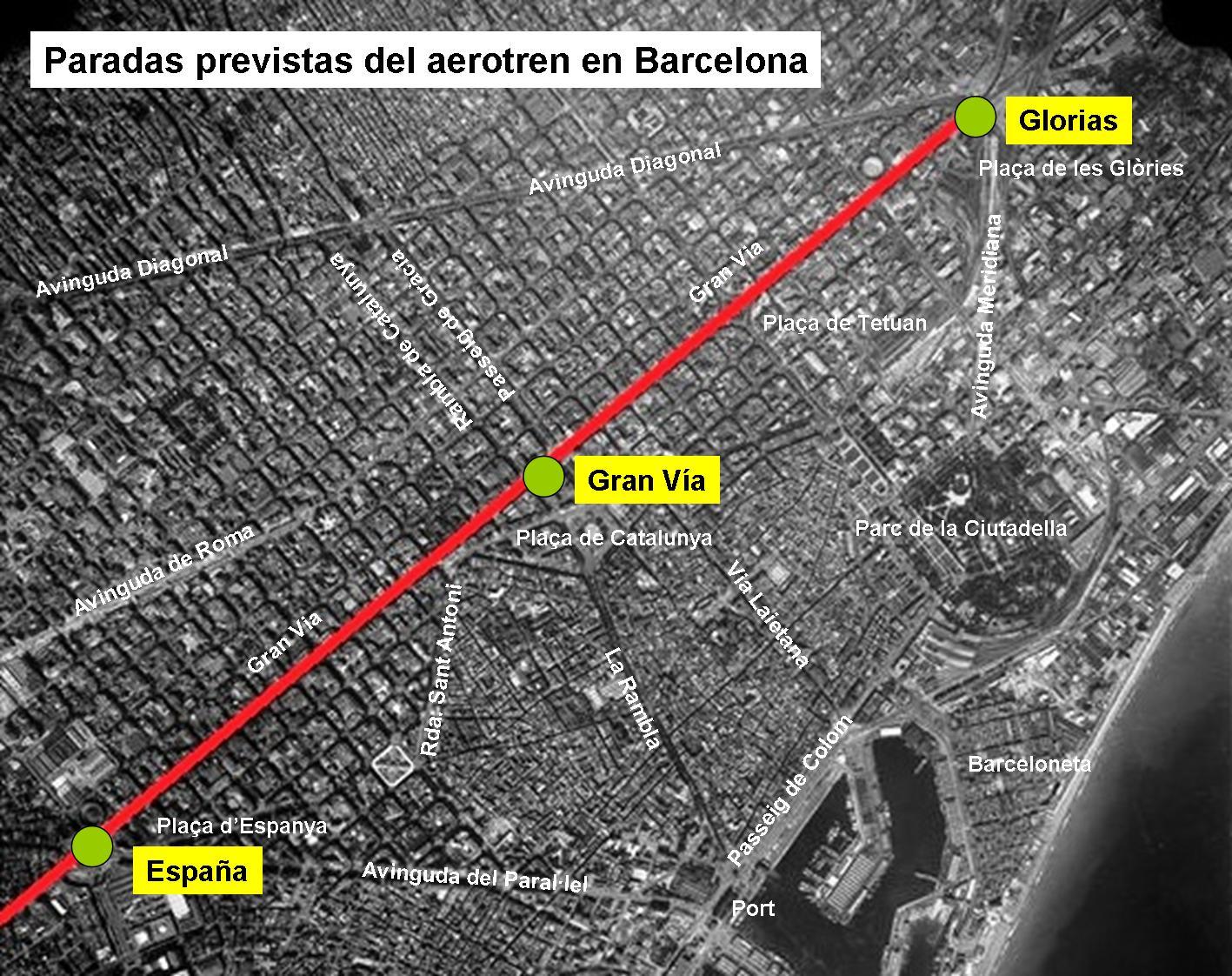 El tranv a 48 el tren vertebrado el primer proyecto de for Constructoras sabadell