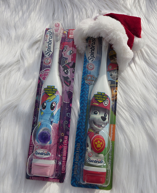 Arm and Hammer Spin Brushes Stuff Those Stockings with Church and Dwight ~ #Review #Giveaway #2016GiftGuide