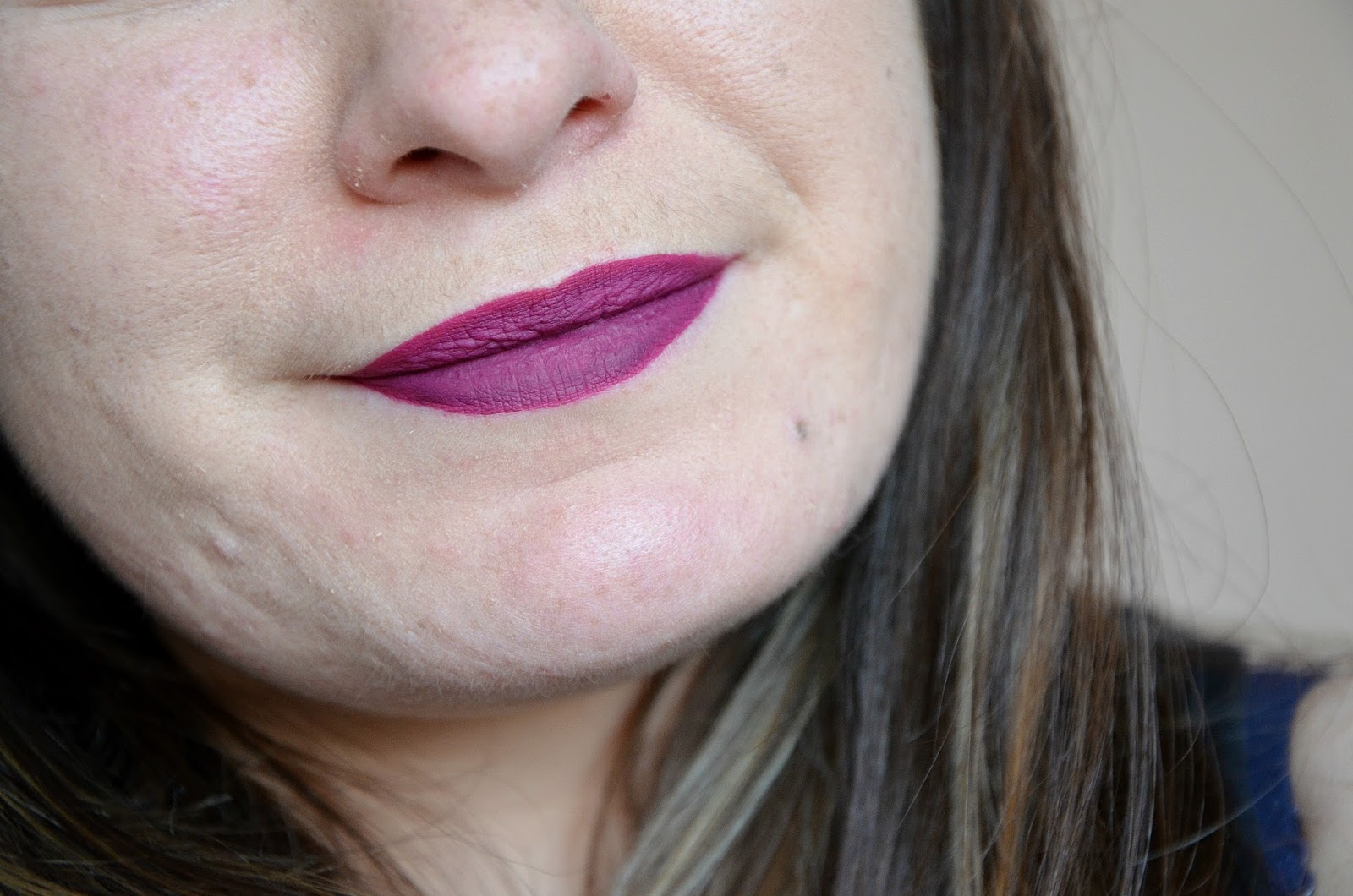 Oh, Lady Retro matte liquid lipcolour MAC swatch