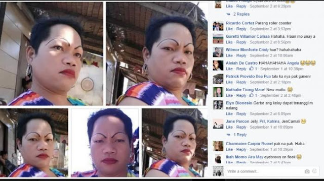 Pamer Alis Tipis Melengkung 180 Derajat, Perempuan Ini Justru Jadi Bahan Tertawaan Netizen!