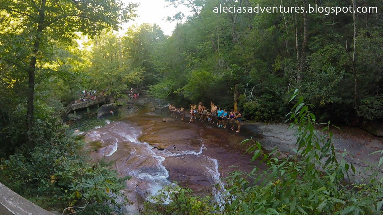 Nature Water Slide North Carolina