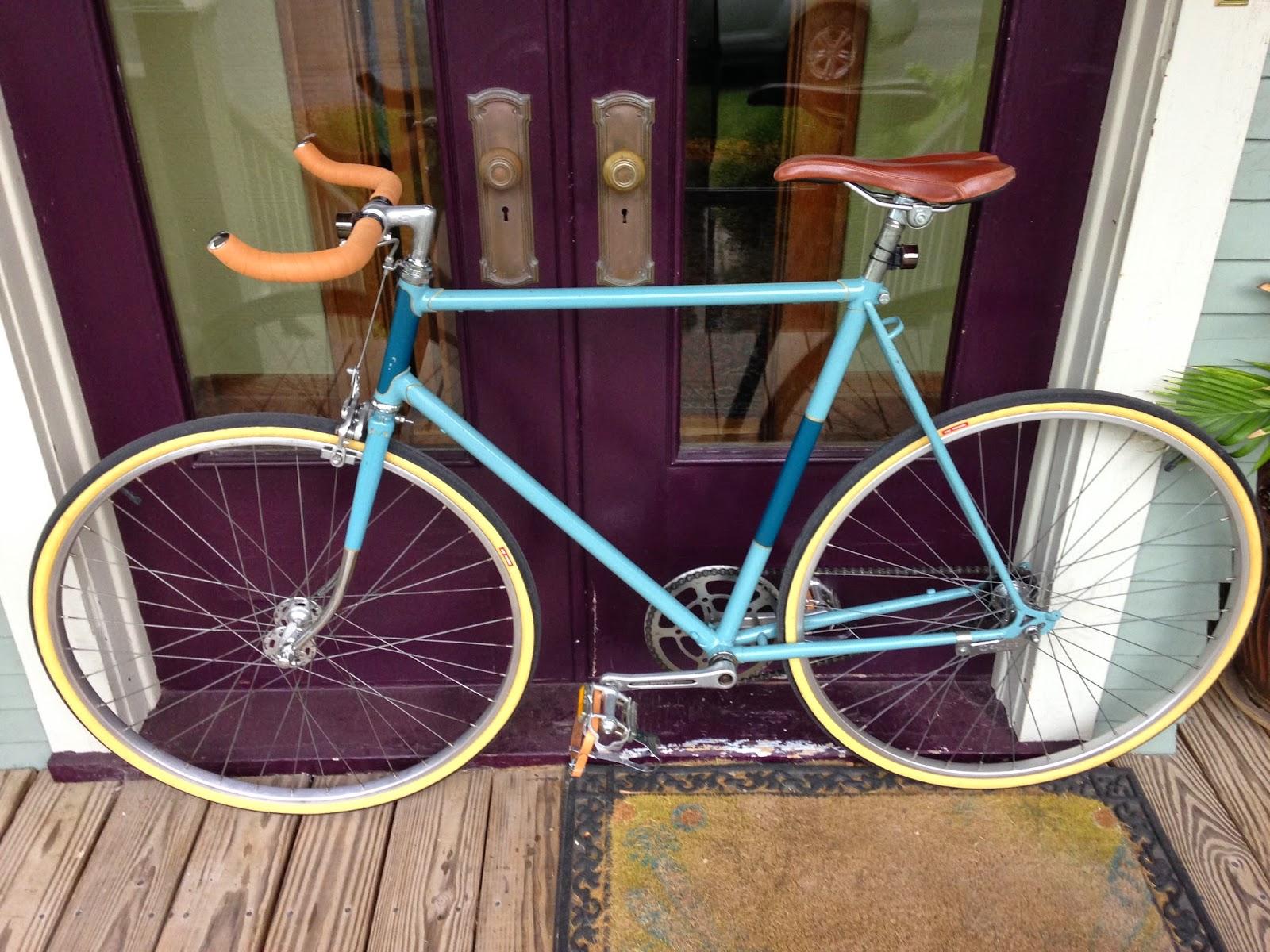 Syracuse Bicycle Works  Homemade Bullhorn Handlebars