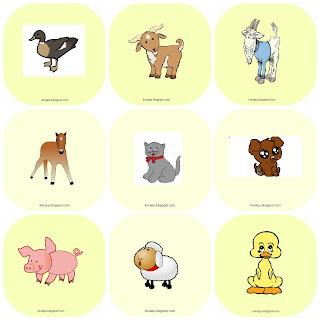 Baby Animals flashcards, memory, bingo, I spy, Matching