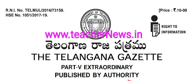 Telangana Assembly Election Notification 2018 Namination Dates