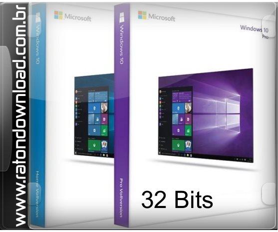 Windows 10 Pro Final Original Microsoft Vlsc: Windows 10 AIO 32 Bits PT-BR Torrent