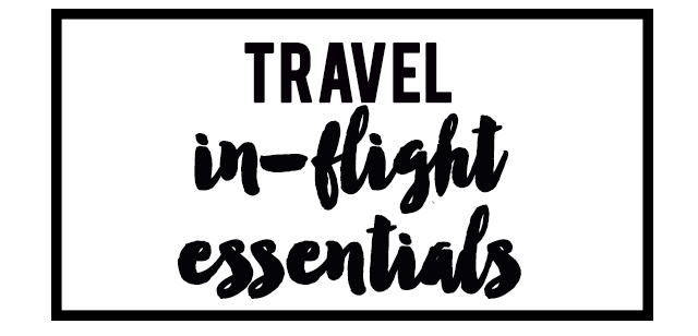 Travel My carry-on flight essentials - Oh Gosh - flight plan template