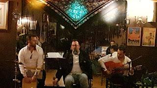 Foto de la actuación el la Peña Martinete