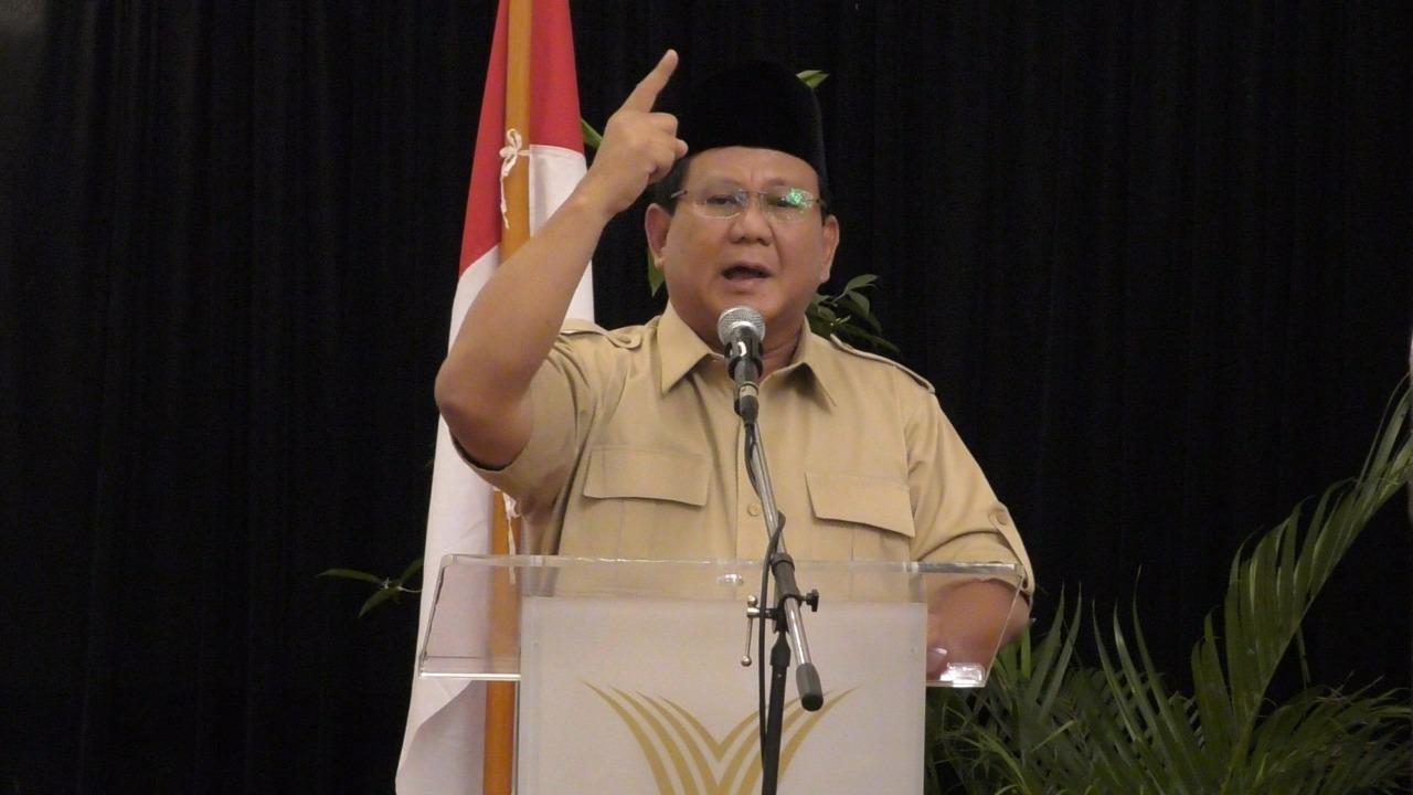 Sering Disebut Gila Jabatan, Begini Pernyataan Tegas Prabowo Subianto