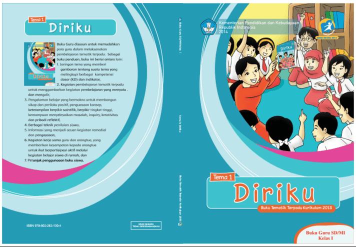 Buku Guru dan Siswa Kurikulum Nasional Kelas I Tema 1 - Diriku