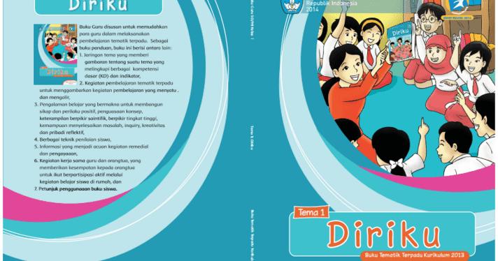 Buku Guru Dan Siswa Kurikulum Nasional Kelas I Tema 1 Diriku Operator Sekolah