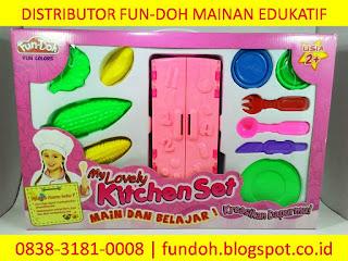 Fun-Doh Kitchen Set, fun doh indonesia, fun doh surabaya, distributor fun doh surabaya, grosir fun doh surabaya, jual fun doh lengkap, mainan anak edukatif, mainan lilin fun doh, mainan anak perempuan