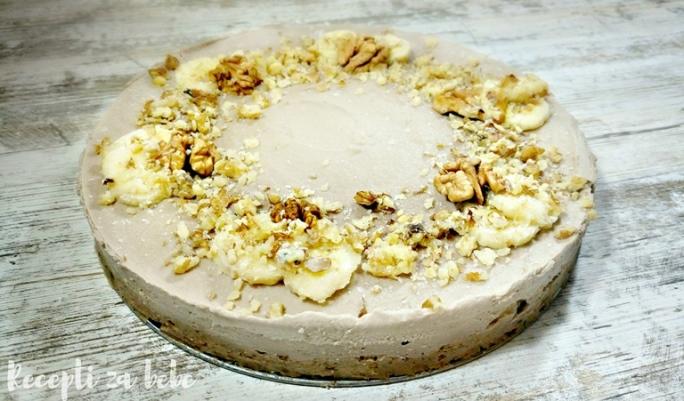sirova torta od banane orasa i datula