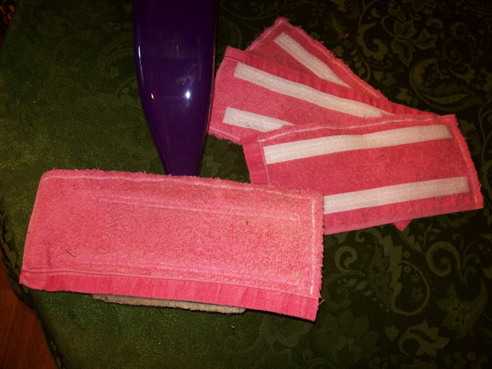 Perfection Made Simple Homemade Cloth Swiffer Wet Jet Pads