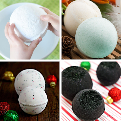 Bath bomb recipe list