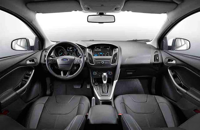 Ford Focus SE 2.0 AT 2018 - Interior + SYNC3
