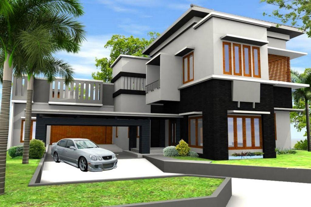 rancangan rumah modern idaman