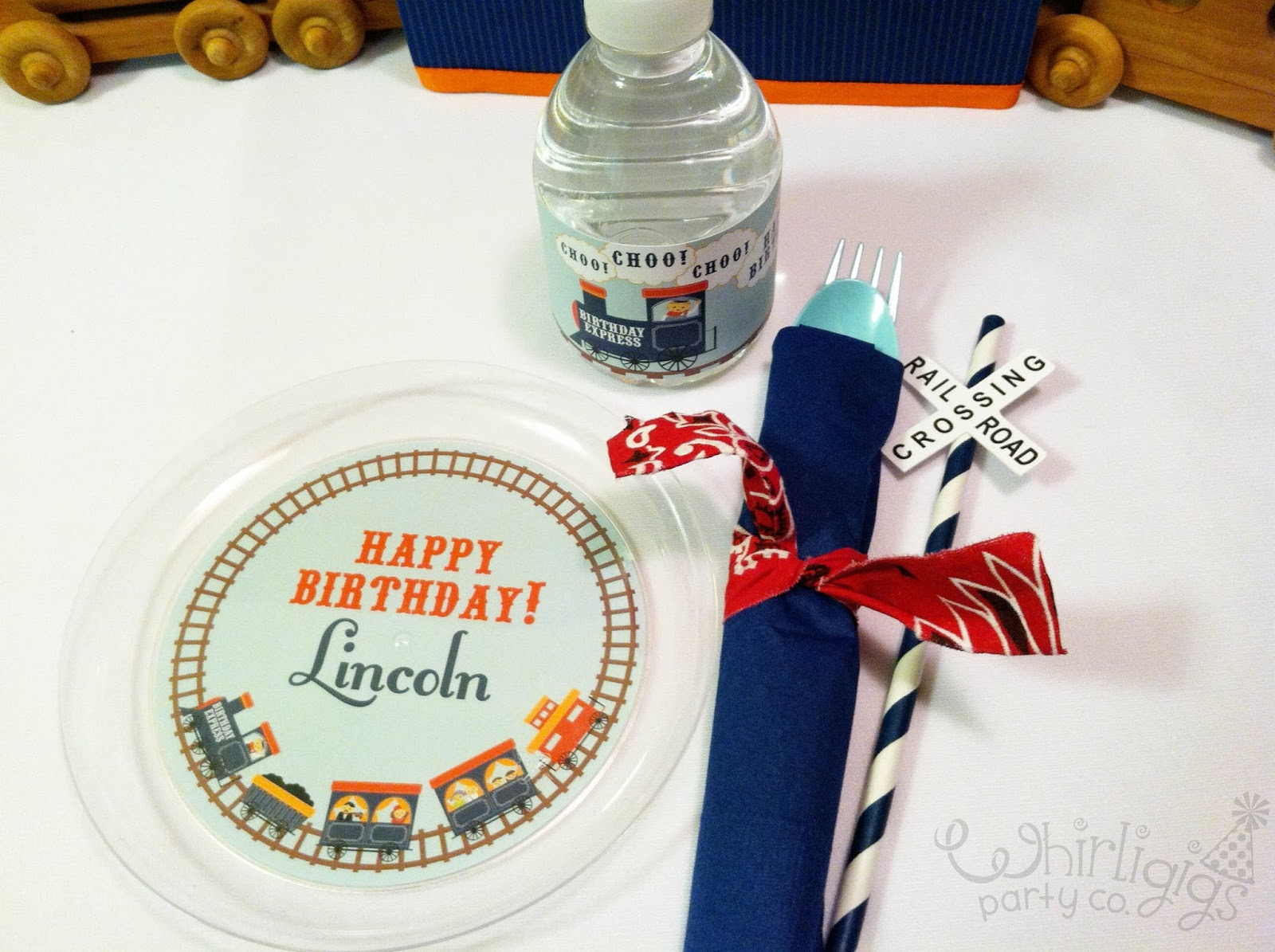 Whirligigs Party Co: A Train Party to Remember