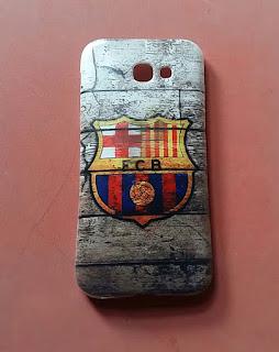 custom case logo barcelona