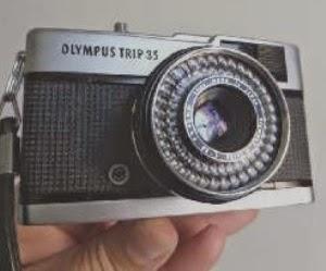 Olympus trip 35 depan