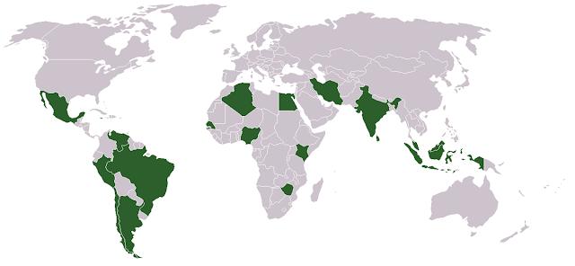 Negara-negara Anggota G15