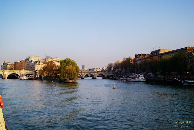 La isla en río Sena