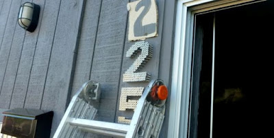 Industrial House Numbers