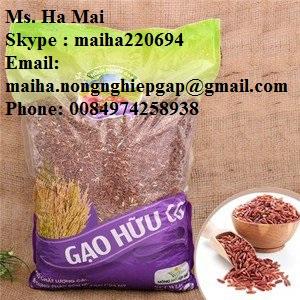 Red Brown Rice Vietnam