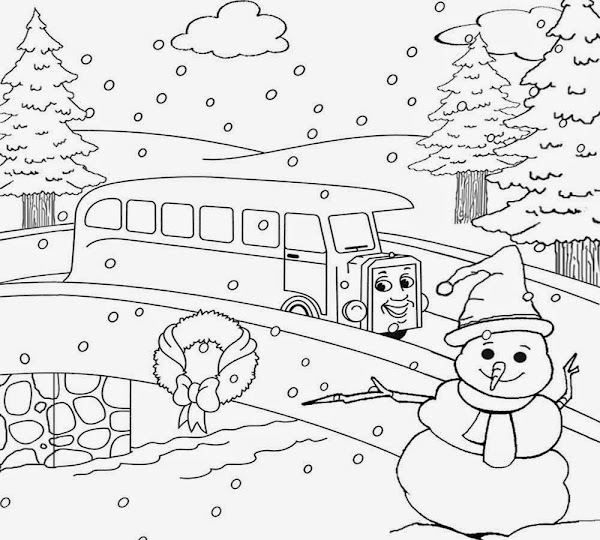 Free Adult Landscape Coloring Pages – Colorings.net