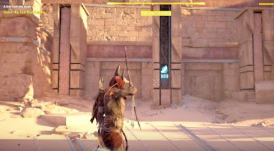 AC Origins, A Gift From The God, Shoot Pillars