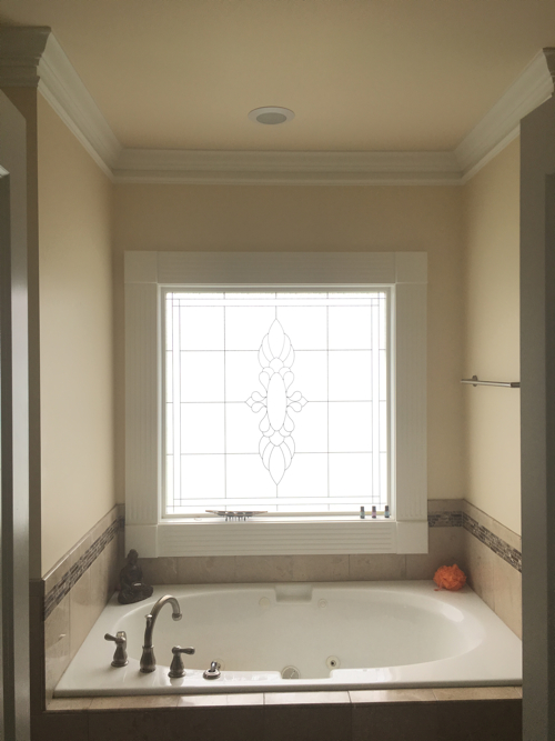 A Master Bathroom Update Embraces the Dark Side (Before and After)
