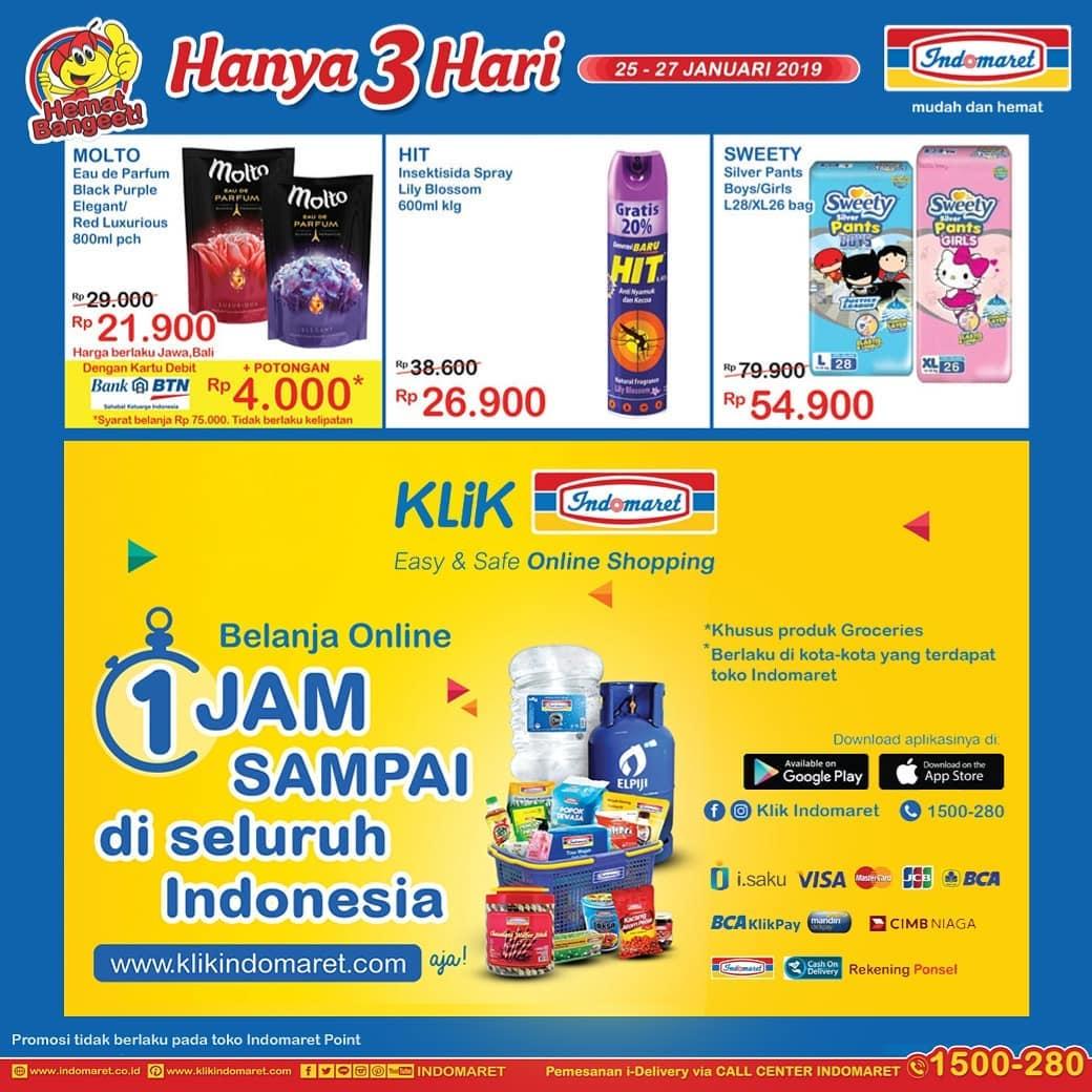 #Indomaret - #Promo #Katalog JSM Periode 25 - 27 Jan 2019