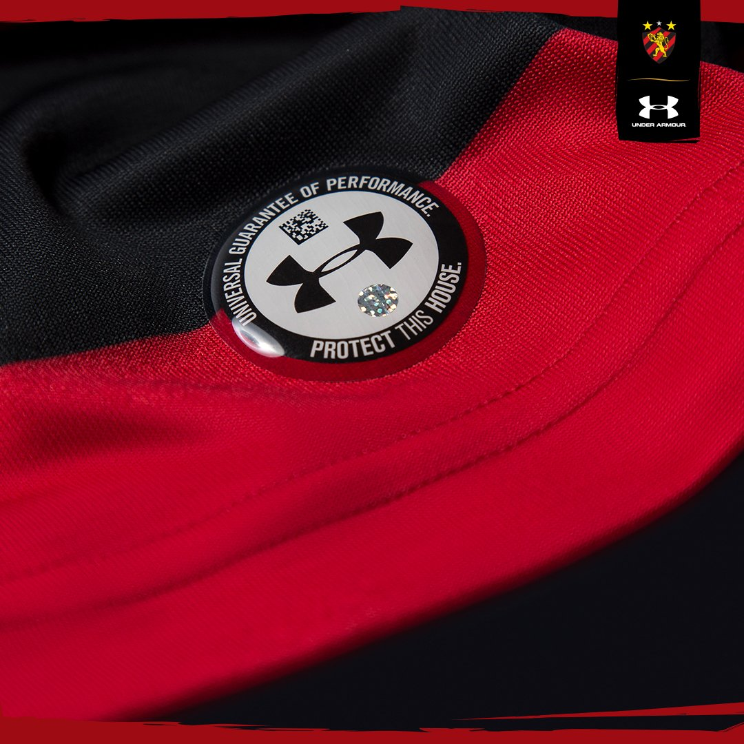 Sport lança hoje novos uniformes pela Under Armour  ec132002f3f7f