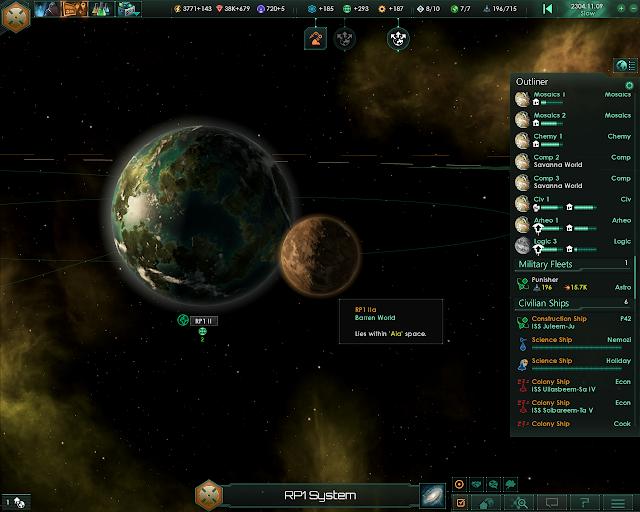 Planets View   Stellaris Screenshot