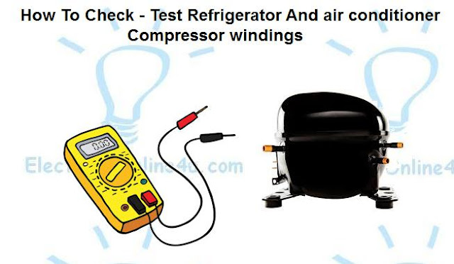 checking compressor windings