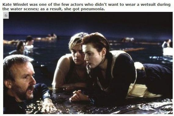 Top 20 Movie Facts about Titanic