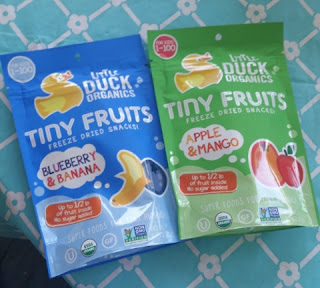 little duck Tiny Fruits flavors