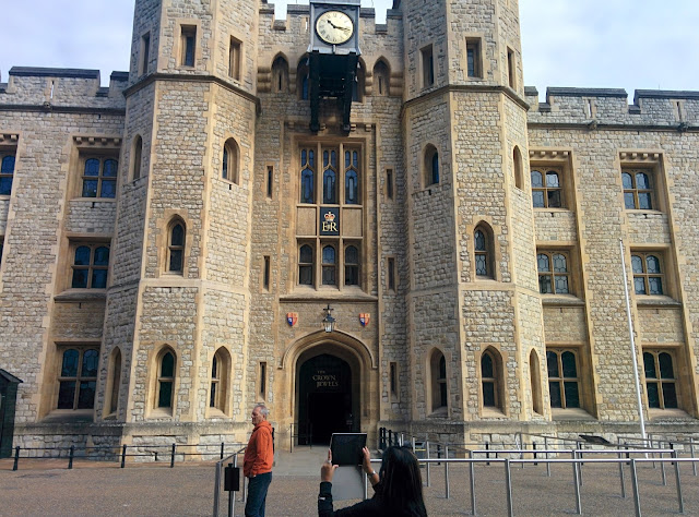 Tower of London - Crown Jewel Entrance