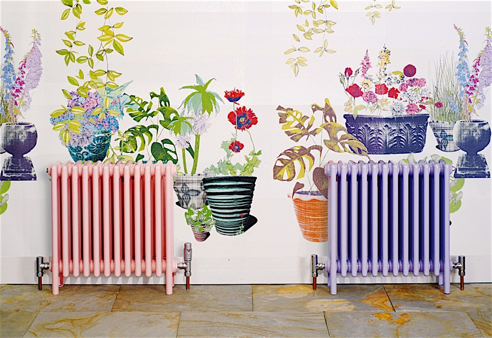 Bisque pastel radiators