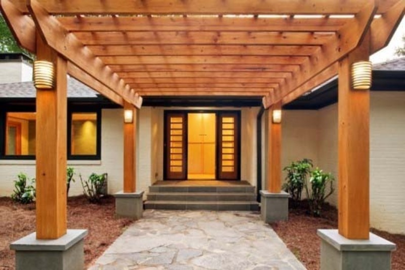New home designs latest.: Home entrance flooring designs ...