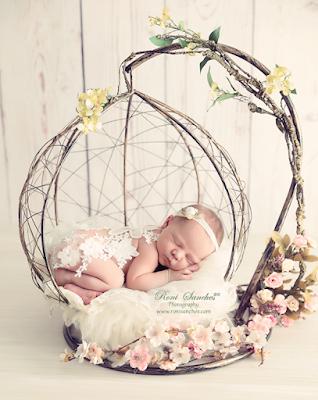 Ensaio fotografico de recém-nascido