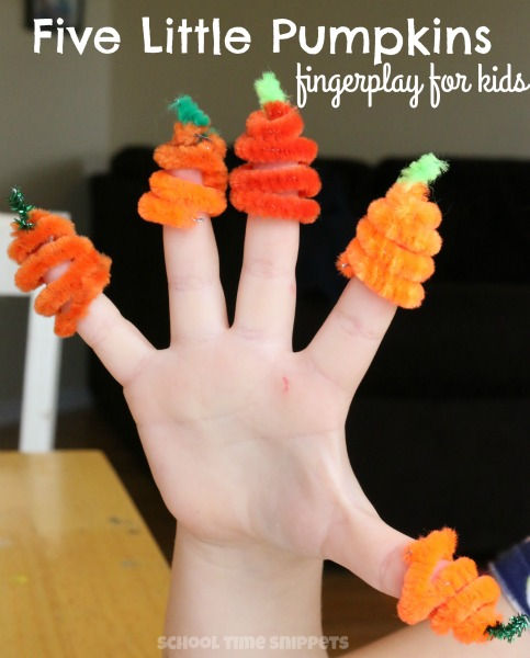 fingerplay for preschoolers