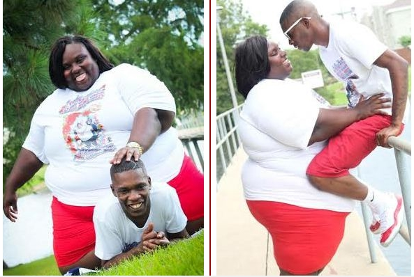 Bbw with her lover