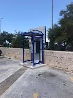 Naplata parkinga na dijelu platoa bivše benzinske Supetar slike otok Brač Online