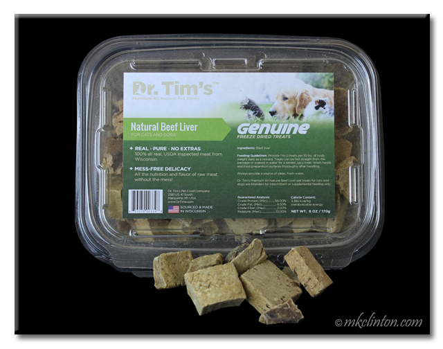 Dr. Tim's Natural Beef Liver treats
