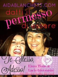 Elena Tione con la dr.ssa Lucia Giovannini