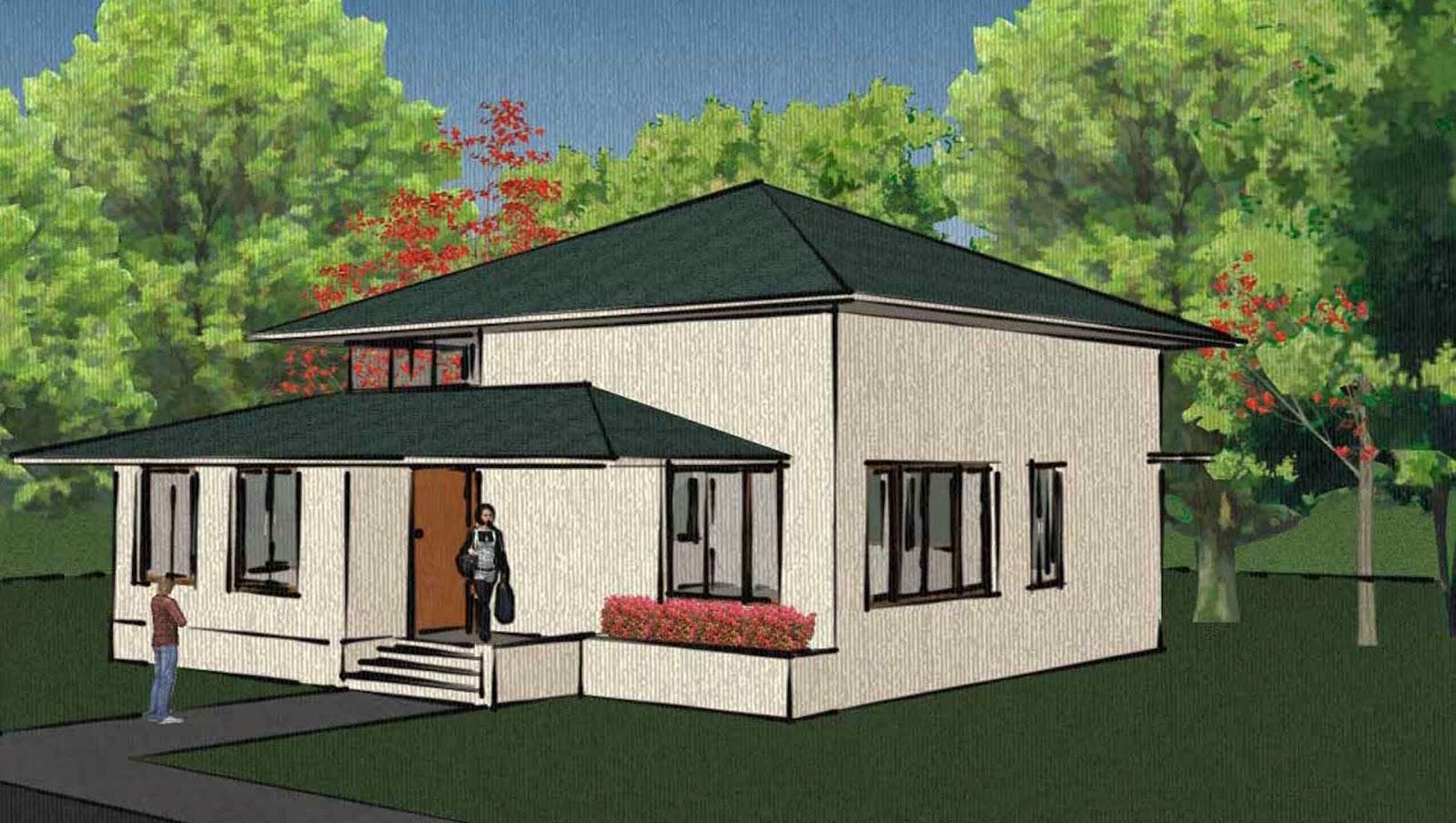 Perencanaan Desain Bangunan Rumah Tinggal