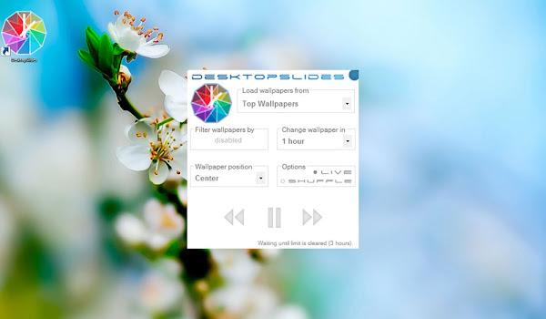 DesktopSlides: HD Duvar Kağıdı İndirme Programı