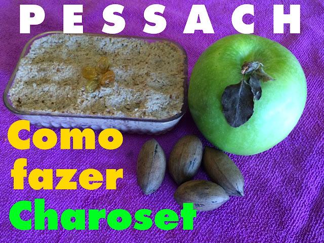 receita tipica judaica de Pessach