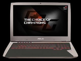 Spesifikasi Laptop ASUS ROG G701VI