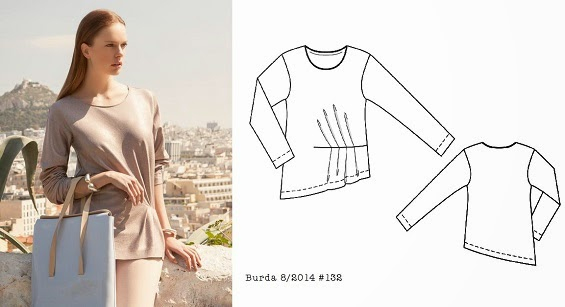Burda_8_2014_#132_gathered_top